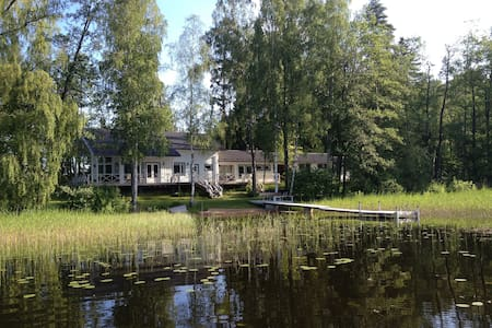 Luxury lake cottage in Finland - Sammatti - Cottage