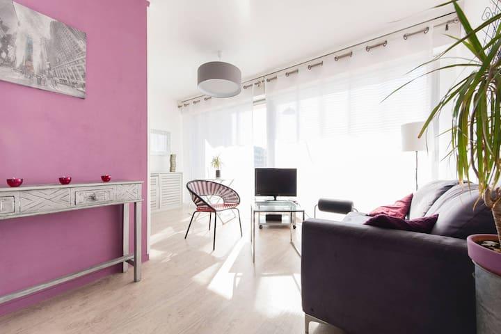 COEUR VILLE  BEAU 33M²TERRASSE ENSOLEILLEE.PARK. - Toulouse - Appartement