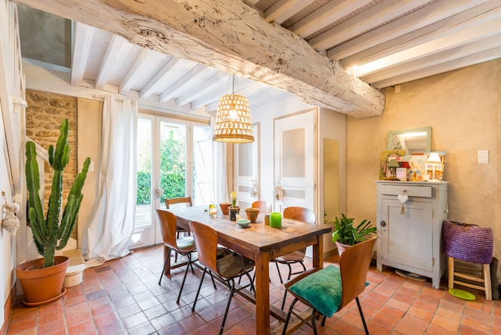 Chambres d hôtes petit dejeuner - Dardilly - บ้าน