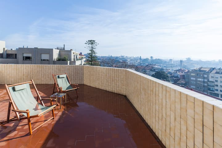 Penthouse With A View Over Porto