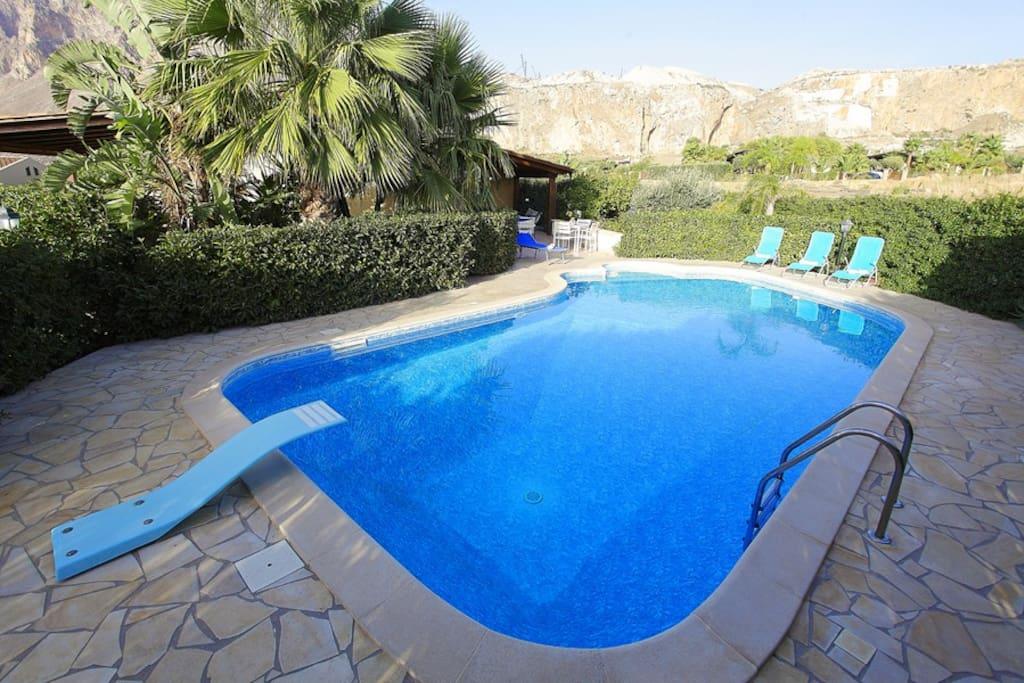 Villa cornino con piscina ville in affitto a custonaci - Villa con piscina sicilia ...