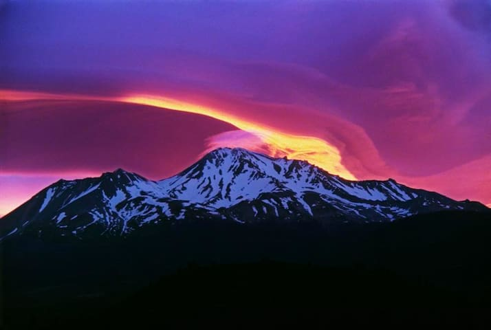 Sunrise Over Shasta