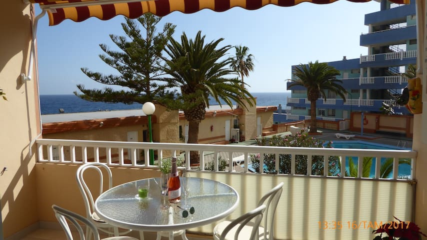 Quiet two-room apartm. in Tenerife! - Candelaria - Leilighet
