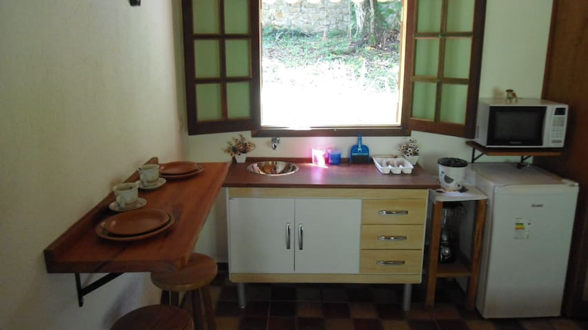 Flats integrados a natureza - Flat4 - Paraty Mirim - Paraty - Apartment