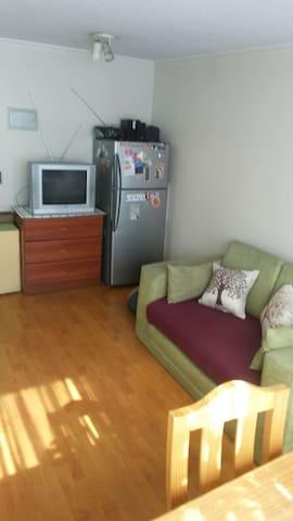 Refrigerador y TV
