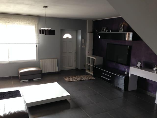 Duplex rez de jardin - Chamagnieu - Apartmen