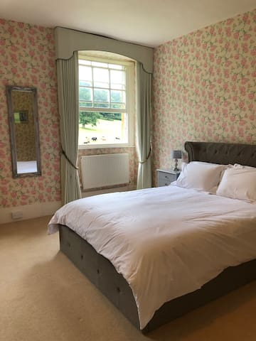 Double Room in Georgian Manor House, Crowcombe