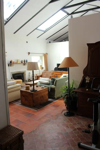 Habitación doble, casa en el campo.