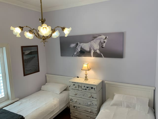 Bedroom Three - Two Single Beds