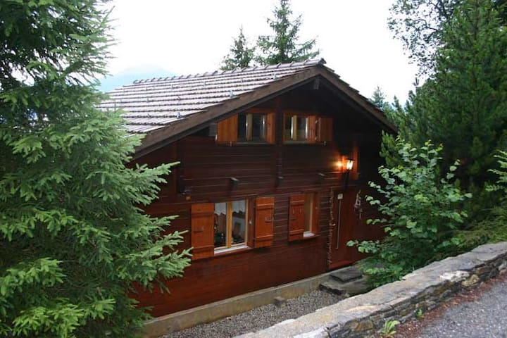 Small chalet with stunning views