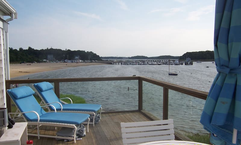 Water's Edge: Beachfront home w/AC great location!