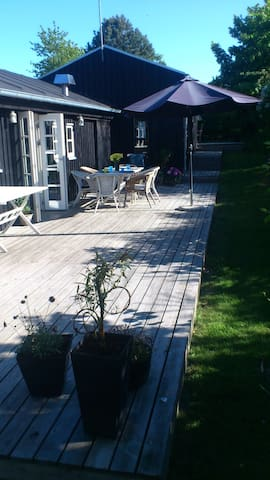 Next to national park and beach - Ebeltoft - Talo