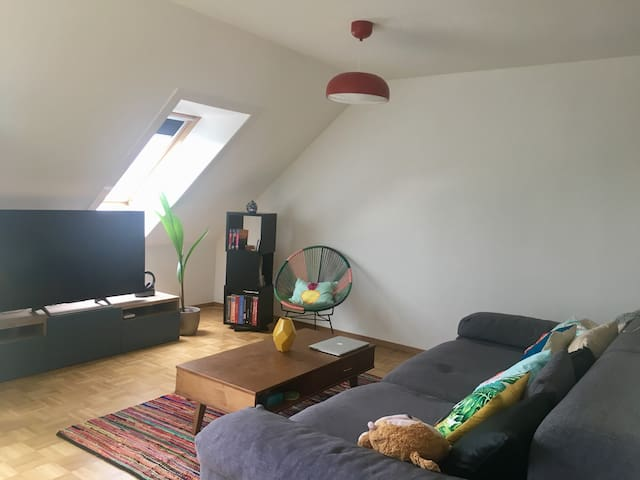 Morges: great double room, 5mins from train/lake