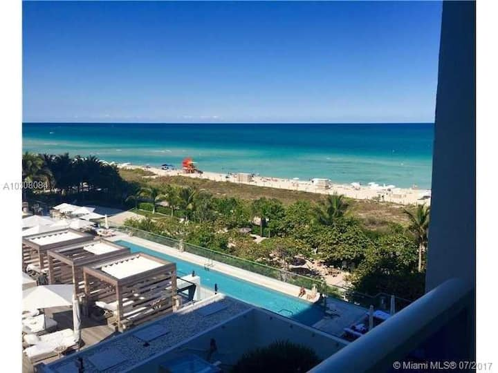Ocean view South Beach 1 Hotel / Roney Palace