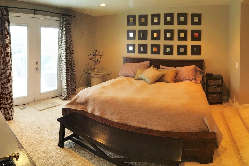 Bedrooms have new high-quality beds with luxury linens and pillows