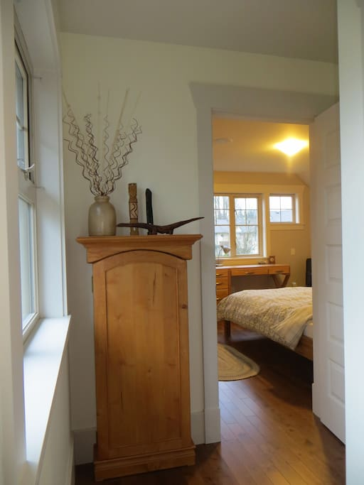 Looking into the Master guest room
