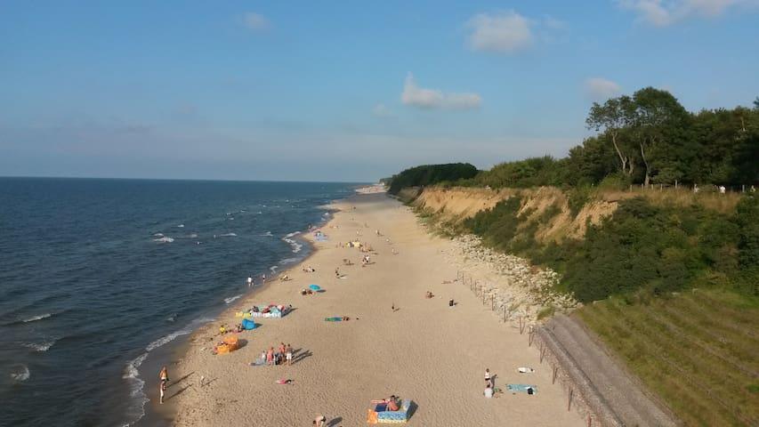 ca 6 km zum Strand