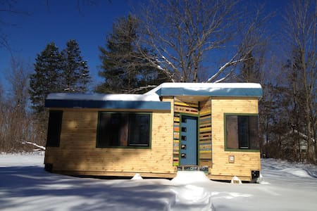 Vermont Tiny House Winter Paradise! - Bennington  - 独立屋