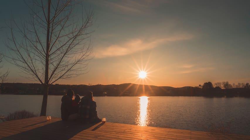 Chalet rénové Lac Maskinongé (motoneige, bateau)