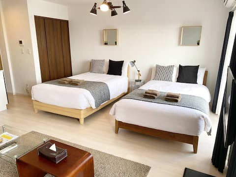 Ocean view apartment in north of Okinawa mainland