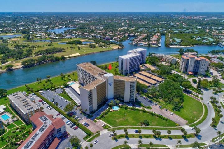 Stunning view of Intracoastal Water  + Golfcourse