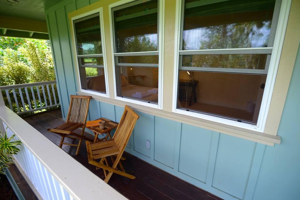 Private lanai (balcony)