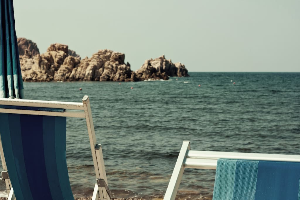 Spiaggia privata di Punta Li Canneddi - scorcio