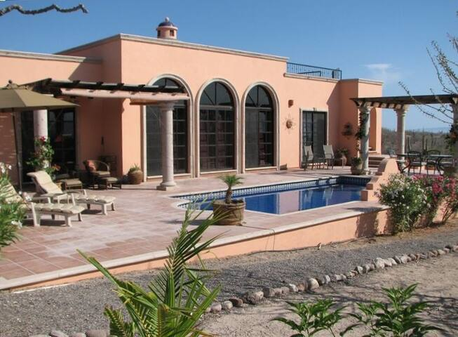 Upscale 2 bdrm Ocean view, pool    - La Paz  - House
