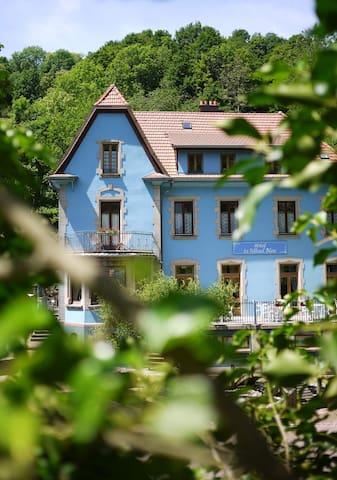 Le Tilleul Bleu, gite dans belle maison de maître