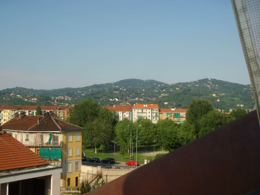 panorama dal balcone/view from balcony