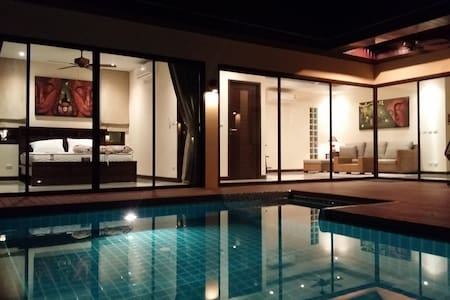 Plunge Tropical Villa near Nai Harn - ラワイ