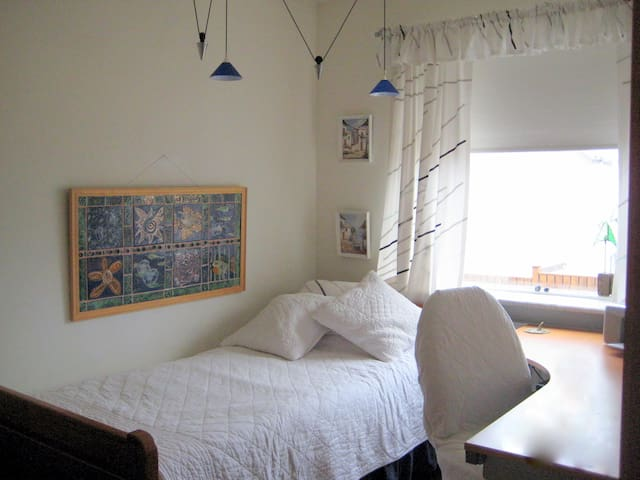 Single room in Beautiful and sunny  - Reikiavik - Bed & Breakfast