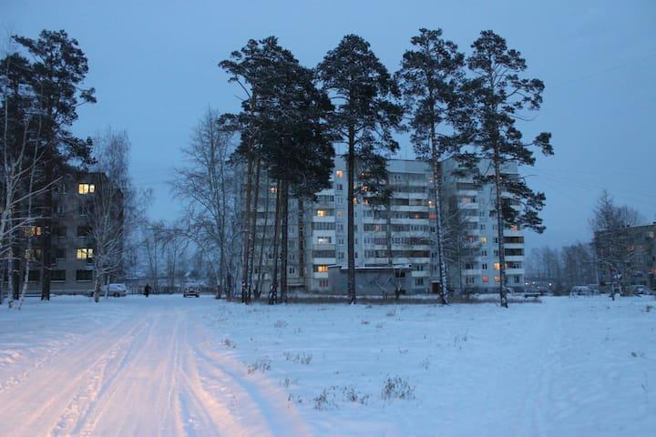 Уютная квартира в Энергетике - Bratsk - Appartamento
