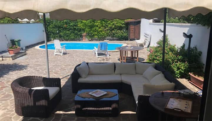 "Cozy Holiday Home ""Villa con piscina per 4 posti - PT54"" with Pool & Garden; Parking Available"