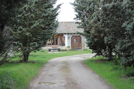 Habitación individual en casa campo - Fuentemilanos