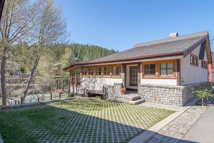Riverside Craftsman Home in Downtown Truckee