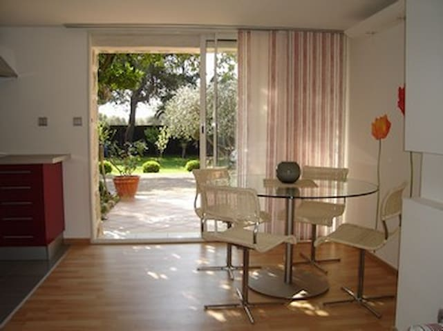 Appartment inside a villa with pool - Biot - Apartemen