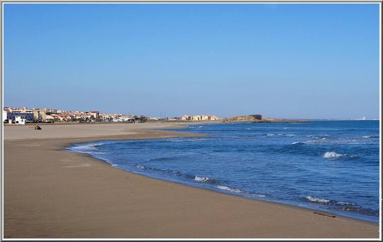 Chambre bord de mer proche massifs - St Pierre la Mer - Fleury