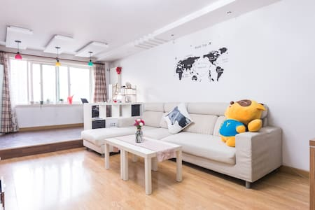 [Echo's cozy apartment]临近地铁5/13号线,有猫咪的共享房间 - Beijing - Lägenhet