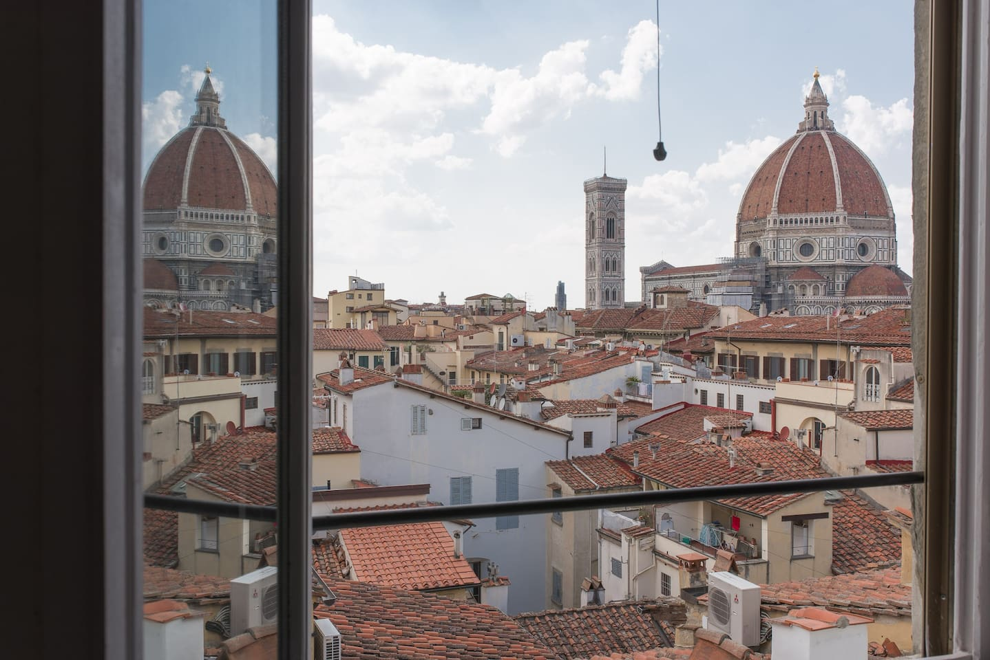 View of the Duomo from the living room
