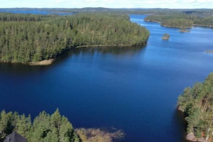 I Holiday cottage on the island in Lake Saimaa