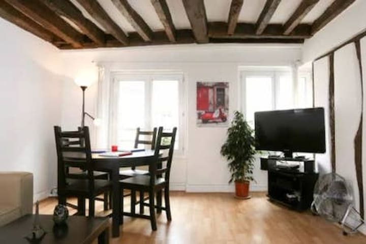 Super Central Atypical Apartment in Lovely Area