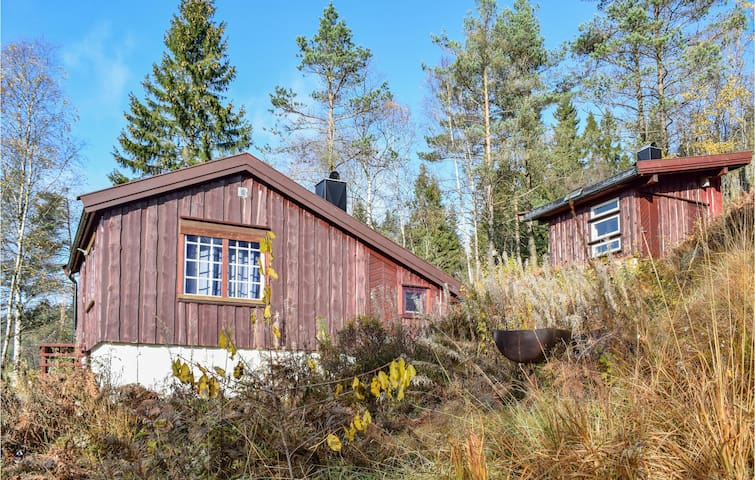 Holiday cottage with 2 bedrooms on 40m² in Kvinesdal
