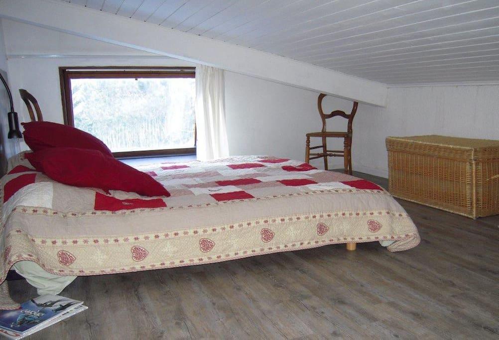 lit double au 1er étage