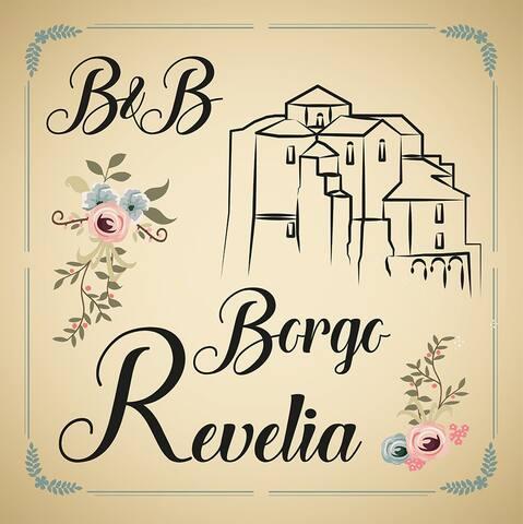 B&B Borgo Revelia vicino a mare, lago e montagna