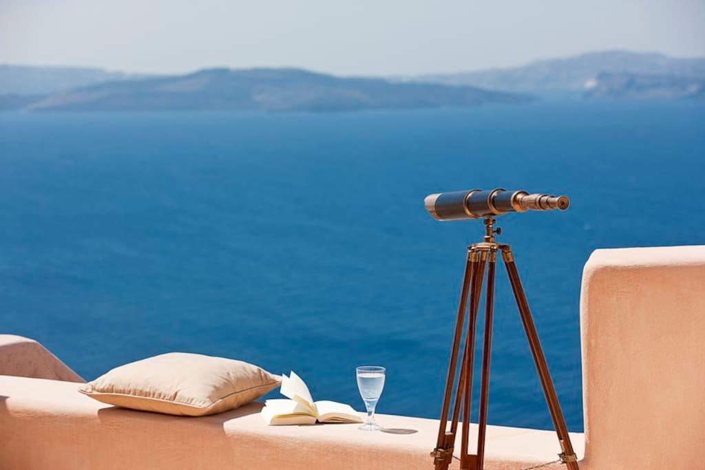 Spectacular caldera view