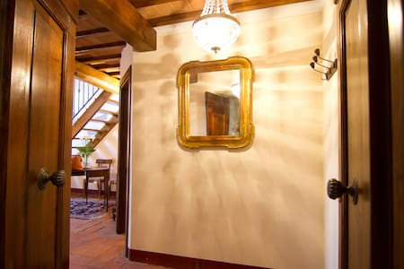 Tuscan charm in historical center - Castiglion Fiorentino - Apartment