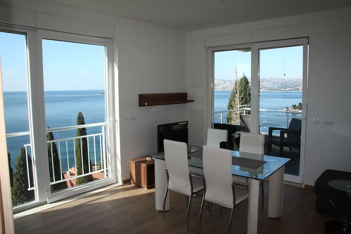 Deluxe 3 - first floor balcony with panoramic view - Cavtat - Apartment