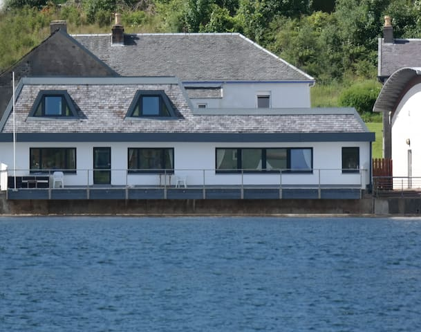 Waterside Villa beautiful  - tighnabruaich - Casa