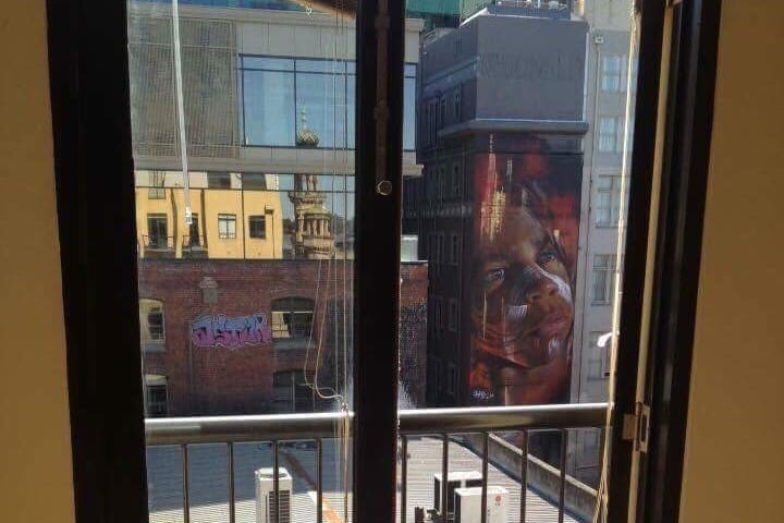 Hosier Lane View Shared Bedroom Melbourne CBD